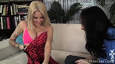 Naughty blonde cougar with big boobs and a sweet ass Helly Hellfire loves to fuck