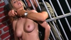 Roxanne is in jail and gets fucked by Randy Colour's hard cock