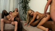 Liliane Tiger and her equally kinky kitty friend in an anal orgy