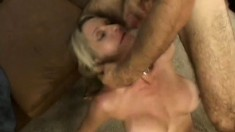 Curvy MILF Emma Star gets her shaven slit crammed with man meat