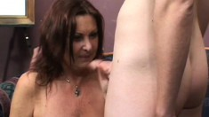 Mature cock-loving chick can't wait to get stuffed by a younger dick