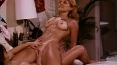 Nina Hartley and Ashlyn Gere surrender their wet cunts to one another