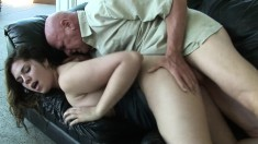 Marley Mason has an old guy giving her the fuck she's been waiting for