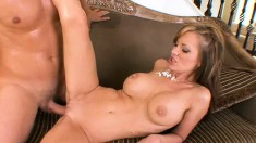 Stacked wife Brandi Edwards cheats on her husband with a young stud