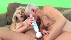 Busty hottie Olivia Austin toys her twat before getting a dick in it