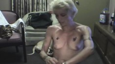 Skinny blonde street whore Ellen takes it all in from behind POV style