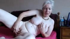 Cute Busty Blonde Babe Fingering