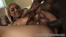 Cute Petite Blondie Angel Marie Loves Really Huge Meat In Her Tiny Hole