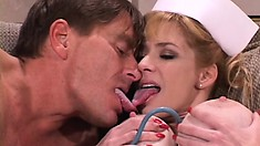 Tara is the bustiest slut nurse you have ever seen in your life