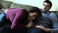 Pathetic Husband Gets Cuckolded By His Merciless Bitch Of A Wife