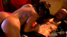 Dancing beauty enjoys some passionate lovemaking with her man