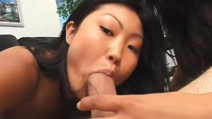 Exotic sweet cuties love sharing a cock and tasting warm cum