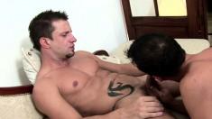 Martin San Diego has his boyfriend Bruno Bordas banging his needy ass