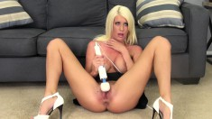 Charming Riley finds the pleasure she seeks with the help of a sex toy