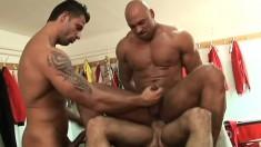 Rob Nelson, Randy Jones And Julian Vincenzo Fulfill Their Sexual Needs