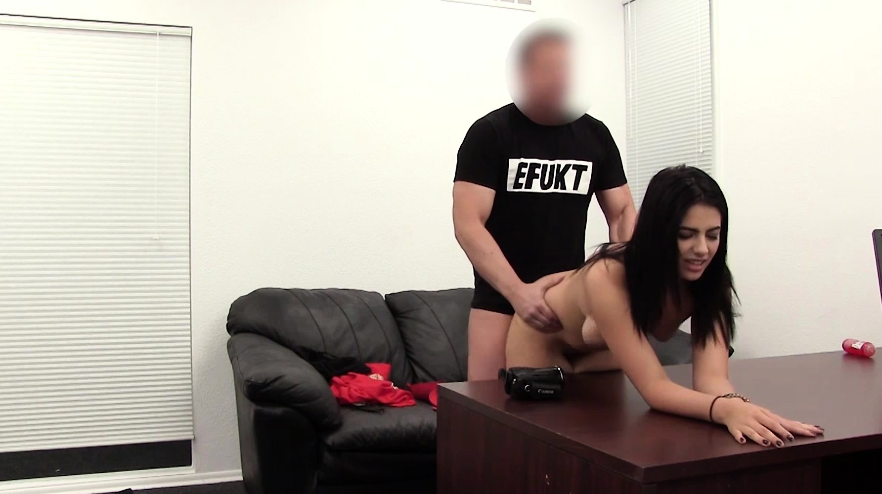 mobiele Porn Castingjonge zwarte Pusy