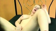 Horny lesbian sluts playing and licking each other on webcam
