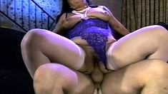 Couple Mature Nymphs Enjoy The Big Cock Inside Threesome