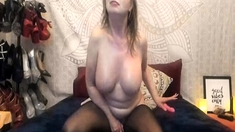 Milf Blonde Enormous Sexual Appetite Live On Cam